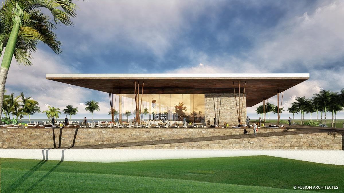 Golf Club House . Grand Bassam