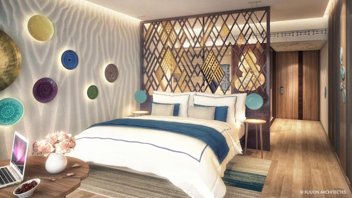 Hotel Movenpick Gammarth . Proposition de renovation des chambres