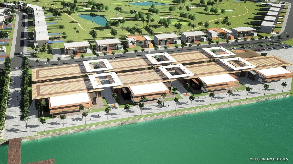 Royal Golf Mall et Restaurants . Grand Bassam