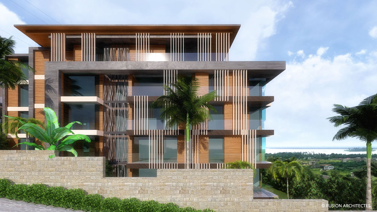 Residence Bel Horizon . Abata . Abidjan . Cote d ivoire