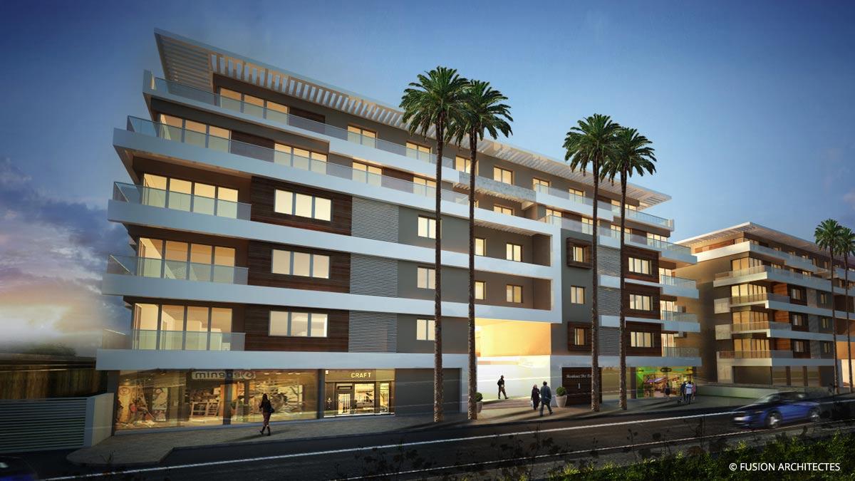 Complexe Residentiel et commercial ONYX . ALGERIE