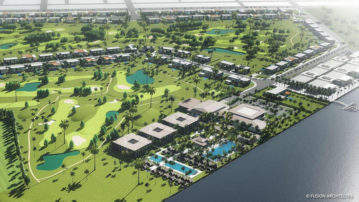 Royal Golf Resort et Villas . Grand Bassam . Cote d ivoire