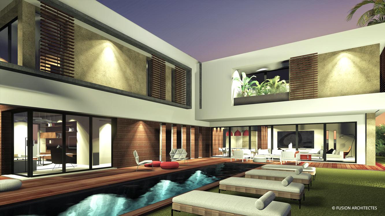 Villa AGATE . Mutuelle ville . Tunis
