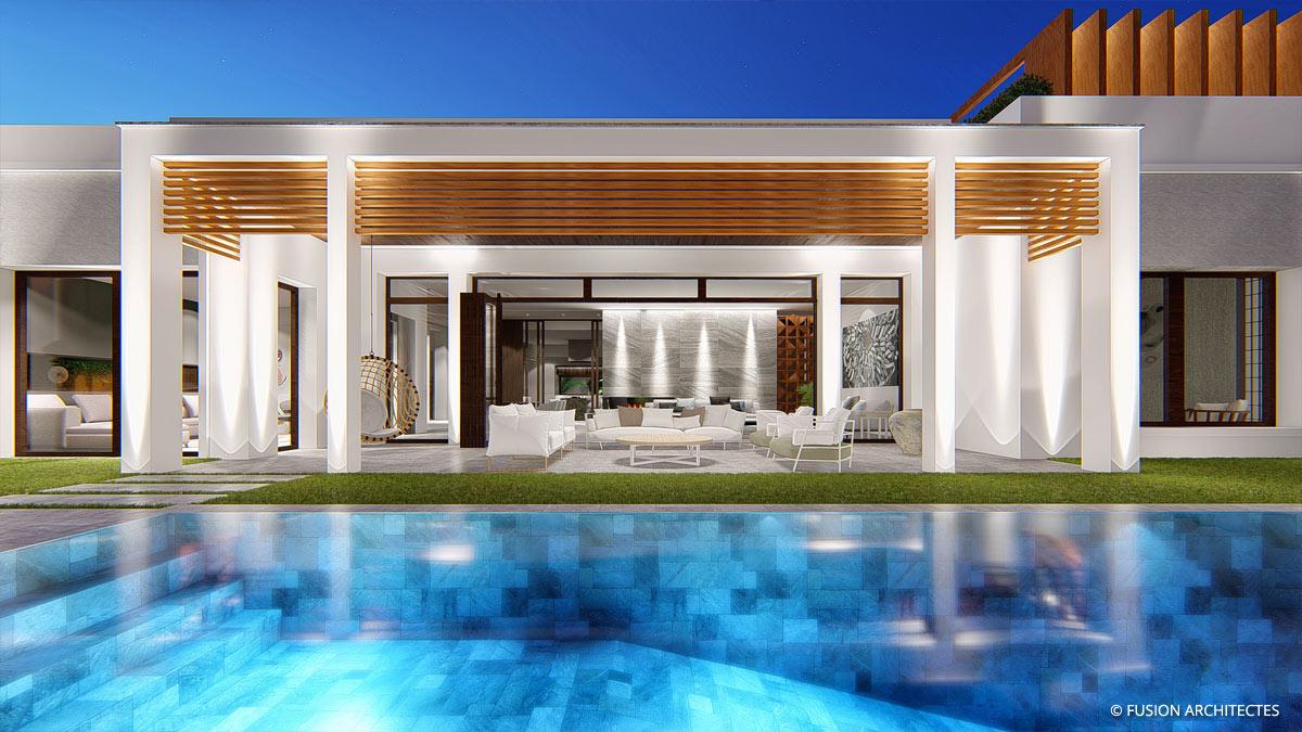 Villa Moonstone . Baie des Anges . Sousse