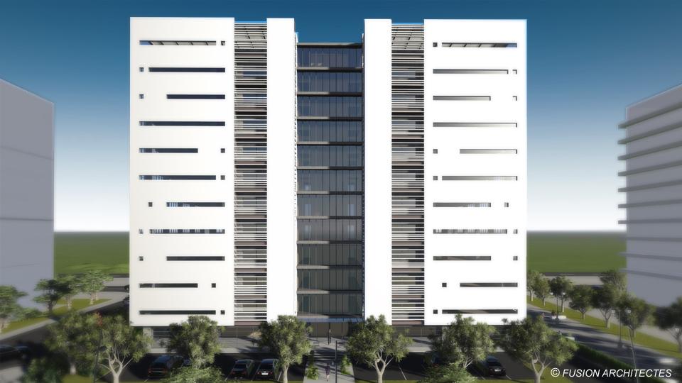 Fusion architectes for Immeuble bureau architecture