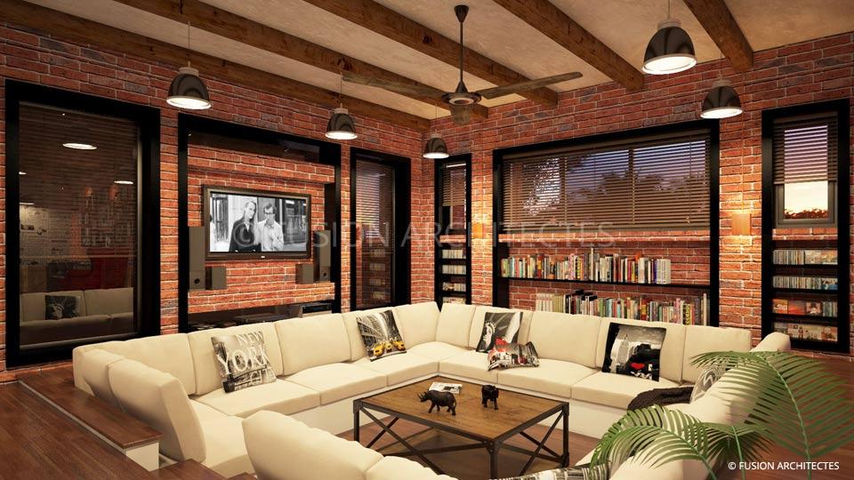 Fusion architectes for Stage architecte interieur