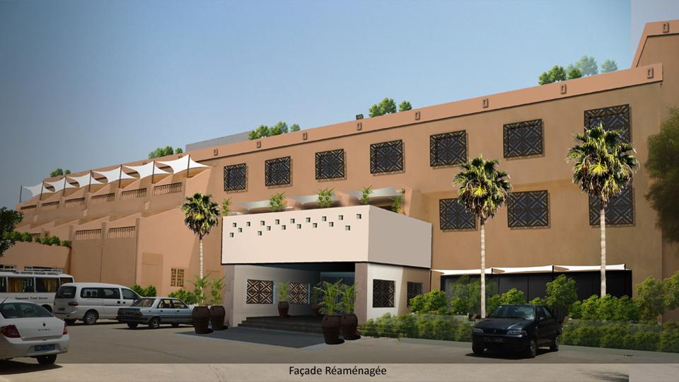 Hotel Continental, Kairouan. Reamenagement