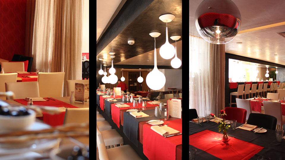 Restaurant Peppino . Hôtel Golden Tulip El Mechtel